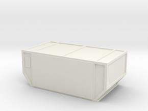 AAF Air Container (closed) 1/43 in White Natural Versatile Plastic
