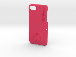 iPhone 8 Wahoo Mount Case in Pink Processed Versatile Plastic