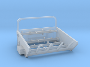 1/64th Bale Processor for Skid Steer Loader in Smooth Fine Detail Plastic