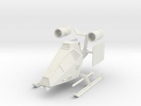 TA10 Light Attack VTOL (28mm) in White Strong & Flexible