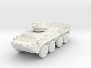 BTR-70 mid 1/72 in White Natural Versatile Plastic