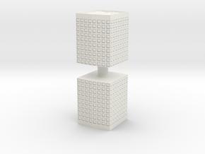 HESCO Sandbag Barrier (x2) 1/87 in White Natural Versatile Plastic