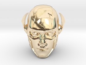 The Flash Head   CCBS Scale in 14K Yellow Gold