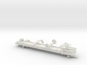 1/50th Spudnik type 30' portable produce conveyor in White Natural Versatile Plastic
