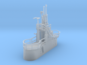 1/240 US Gato Conning Tower (Fairwater) in Smooth Fine Detail Plastic