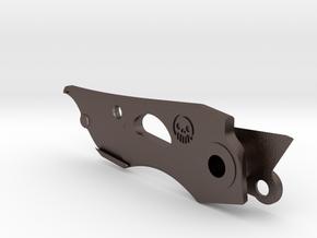 Leatherman Skeletool Mini Utility Knife Blade in Polished Bronzed-Silver Steel