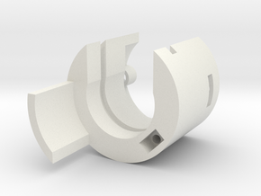 Hilt Connector Bottom (25.8mm) in White Natural Versatile Plastic