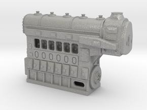 Fairbanks-Morse 1034HP 6cyl Diesel Engine in Aluminum: 1:48 - O