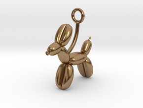 Balloon Animal in Natural Brass