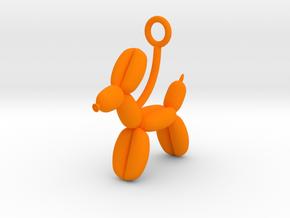 Balloon Animal in Orange Processed Versatile Plastic