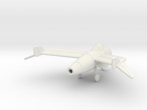 1/144 Blohm und Voss P.212.03 in White Natural Versatile Plastic