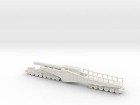 vikers bl 12 inch mk 2 1/285 6mm ww1 railway  in White Natural Versatile Plastic