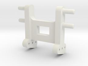 siku Adapter für Kompaktor oder Korund in White Natural Versatile Plastic