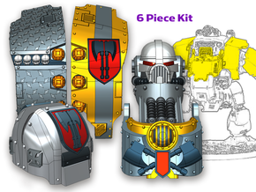 Executioners: Full Atlas Pattern Kit in Smooth Fine Detail Plastic