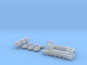1:50 Bobcat T750 track frames  in Smooth Fine Detail Plastic