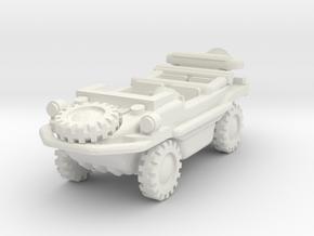 Schwimmwagen 1/48 in White Natural Versatile Plastic