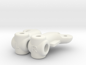 SA2 BF10 Dyna Blaster / TR-15T Knuckle Arm in White Natural Versatile Plastic