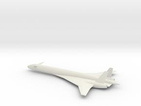 1/200 BOEING SONIC CRUISER in White Natural Versatile Plastic