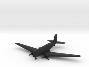 Douglas DC-3 in Black Natural Versatile Plastic