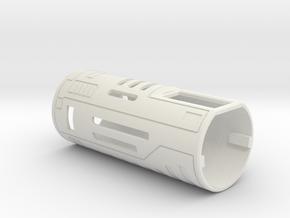 Chassis Cover in White Premium Versatile Plastic