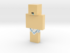 Duckyaus   Minecraft toy in Glossy Full Color Sandstone