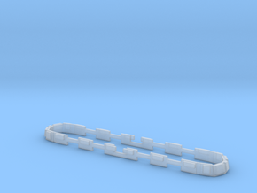 Scala N - FS E636 Finestrini in Smooth Fine Detail Plastic