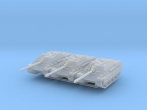 Jagdpanther early (schurzen) (x3) 1/220 in Smooth Fine Detail Plastic