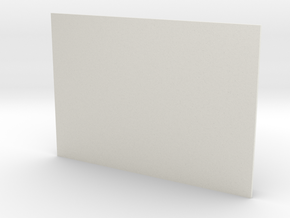 American Flag Stars (7 by 10 cm) in White Natural Versatile Plastic