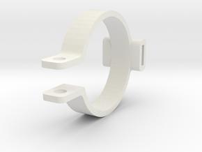 Cartridge holder in White Natural Versatile Plastic