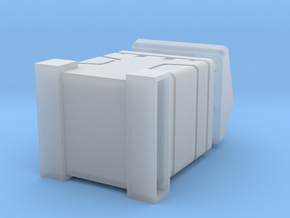 Ammo Rack Single in Smooth Fine Detail Plastic