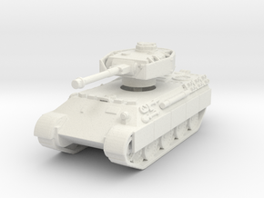 Bergepanther IV Sdkfz 179 1/144 in White Natural Versatile Plastic
