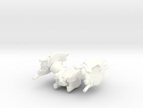 Regent T1 ( Interceptor ) in White Processed Versatile Plastic