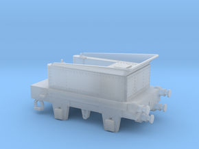00 Scale SDR Sunbeam Tender in Smooth Fine Detail Plastic
