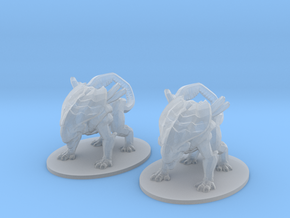 Alien Crusher 6mm monster Infantry Epic miniature in Smooth Fine Detail Plastic