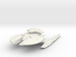 Crawford Class Scout Destroyer in White Natural Versatile Plastic