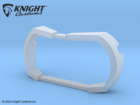 PM10037 Metric LED Light Bucket insert in Smooth Fine Detail Plastic