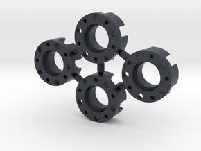 4X DJX Wheel Spacers in Black PA12