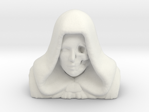 Angel Of Death in White Natural Versatile Plastic
