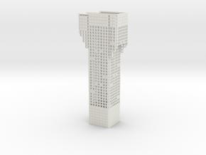 Luchtwachttoren  Scale 1:87 in White Natural Versatile Plastic