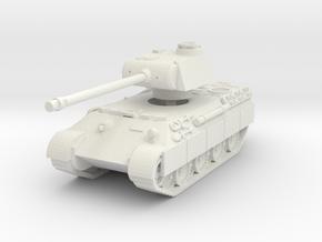 Panther A (schurzen) 1/72 in White Natural Versatile Plastic