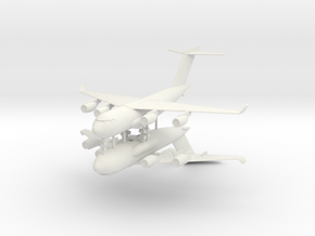 1/700 C-17 Globemaster III (2x) in White Natural Versatile Plastic