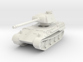 Panther D 1/72 in White Natural Versatile Plastic