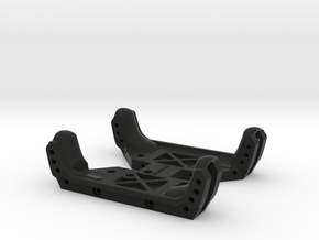 Flat bottom skid for Axial Capra without Dig in Black Natural Versatile Plastic