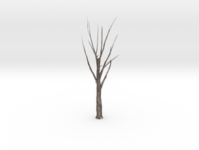 Tree Faceted - Clean in Polished Bronzed Silver Steel