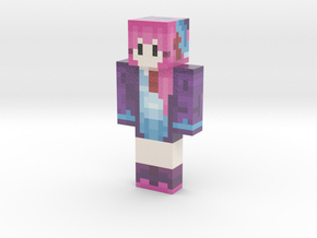 MarbleSheepth | Minecraft toy in Glossy Full Color Sandstone