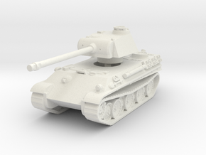 Panther G 1/100 in White Natural Versatile Plastic