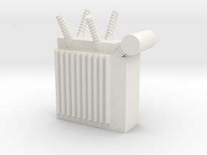 Power Substation 1/64 in White Natural Versatile Plastic