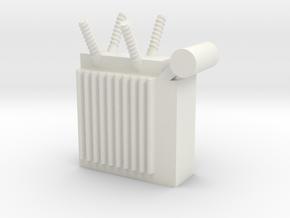 Power Substation 1/43 in White Natural Versatile Plastic