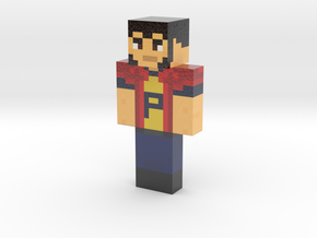 UpMax | Minecraft toy in Glossy Full Color Sandstone
