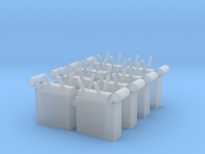 Power Substation (x8) 1/220 in Smooth Fine Detail Plastic